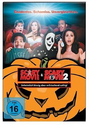 SCARY MOVIE - HALLOWEEN BOX  2 DVD NEW  REGINA HALL/JONATHAN ABRAHAMS/+ (Scary Halloween Boxen)