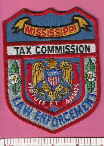 Mississippi MS State Tax Commission Law Enforcement Police Shoulder Patch