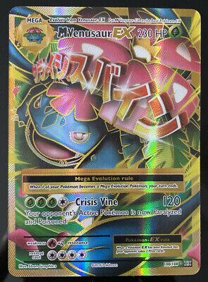 M Venusaur EX Full Art NM Evolutions 100/108 Pokemon TCG