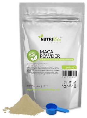 2500g (5.5lb) PURE RAW MACA POWDER 100% ORGANIC PHARMACEUTICAL GRADE