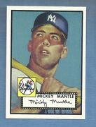 Mickey Mantle Rookie Card