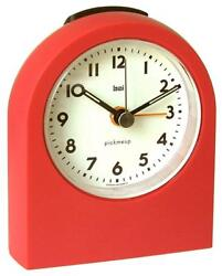 Bai Pick-Me-Up Alarm Clock, Red