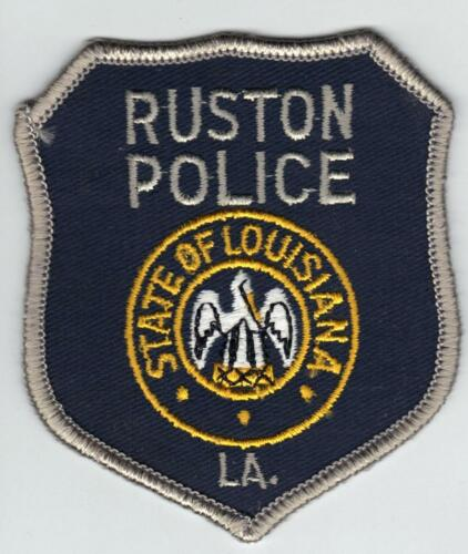 Ruston Police (Louisiana)  Shoulder Patch - new from the early 1980