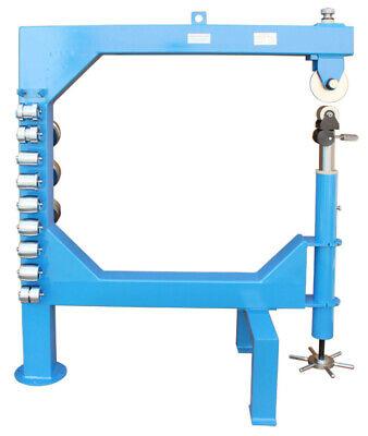 45 Throat English Wheel Sheet Metal 16 Ga Planishing Anvil Shrinker Stretcher