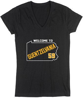 V-NECK Ladies Jake Guentzel Pittsburgh Penguins