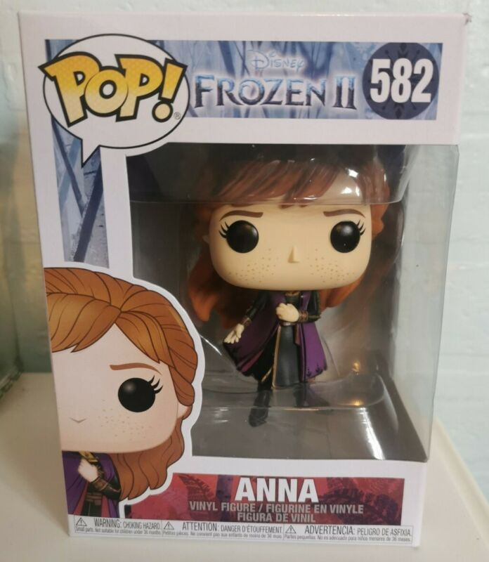 FUNKO+POP%21+VINYL+ANNA+FROZEN+COLLECTIBLE+FIGURE+%23582+BRAND+NEW+AND+SEALED+