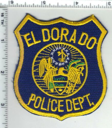 El Dorado Police (Arkansas) 2nd Issue Shoulder Patch