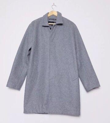 John Elliott & Co Grey Wool Coat Size 4 XL BNWOT