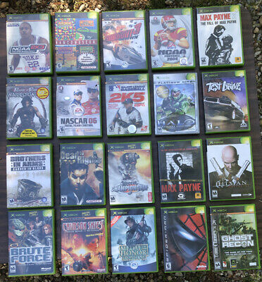 Lot of 20 XBOX Games - Various Titles - All Complete - Lot #4