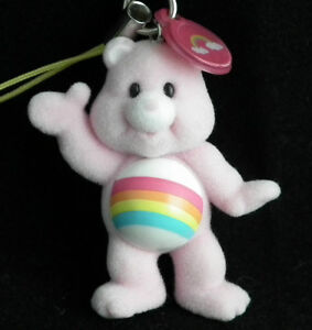 Care Bear Dangler Charm: Grumpy,, Love-a-Lot, Good Luck, Tenderheart, Funshine