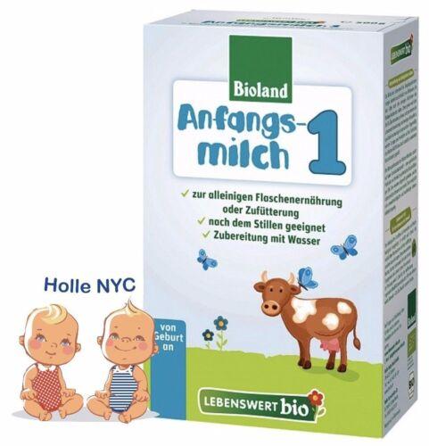 Holle Lebenswert Stage 1 Organic Baby Formula 500g Free Shipping