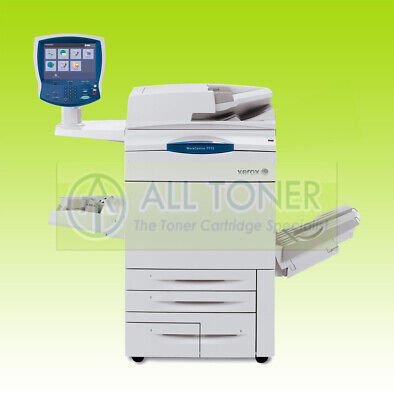 Xerox Workcentre 7655 Laser Color Bw Printer Scanner Copier A3 Mfp 55ppm 7675