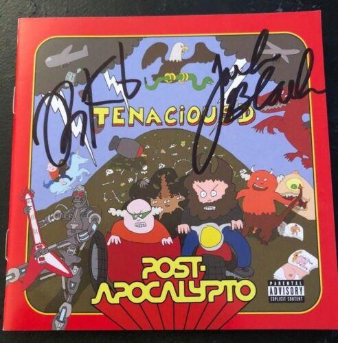 TENACIOUS D SIGNED POST-APOCALYPTO CD JACK BLACK KYLE GLASS AUTOGRAPH ALBUM