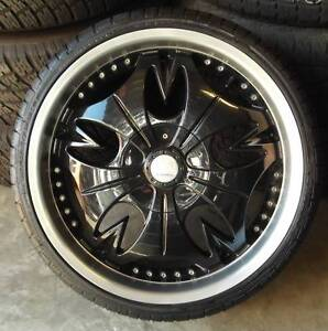 """20"""" G2 Alloys With New Tyres To Suit Commodore Toowoomba Toowoomba City Preview"""