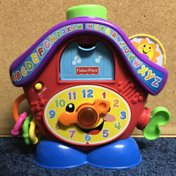 Fisher Price Laugh & Learn Peek-A-Boo Cuckoo Clock Light-Up Musical Learning Fun