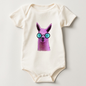 Cool Pink Llama, Baby Bobysuit Sydney City Inner Sydney Preview