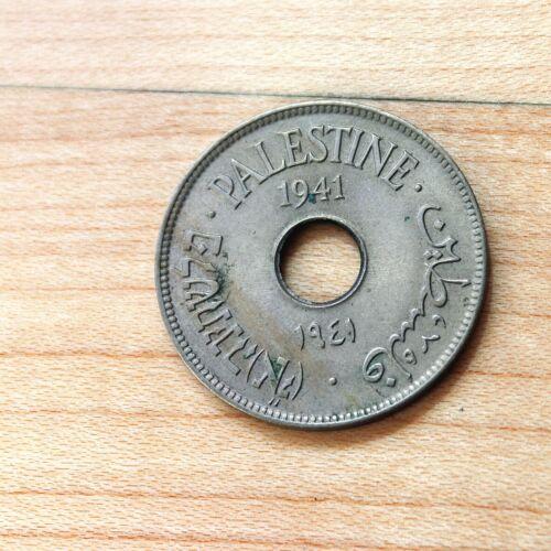 1941 Palestine 10 Mils