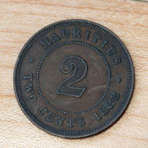 1888 Mauritius 2 Cents