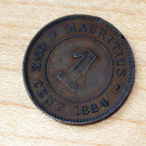 1884 Mauritius 1 Cent