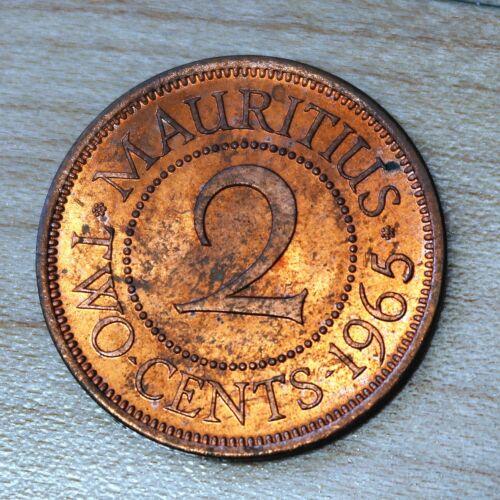 1965 Mauritius 2 Cents