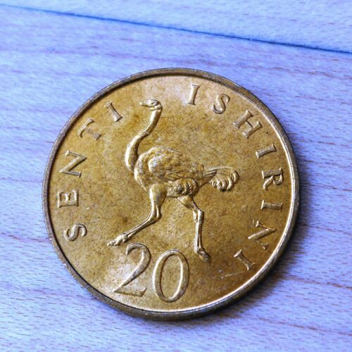 1979 Tanzania 20 Senti Ostrich