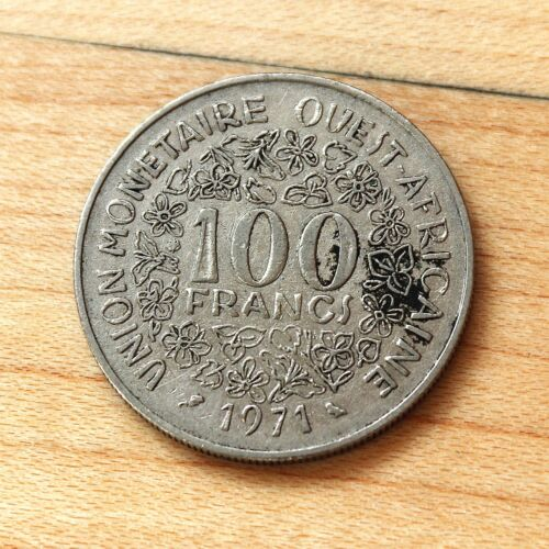 1971 West African States 100 Francs