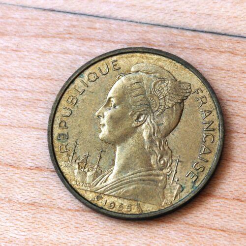 1965 French Somaliland 20 Francs