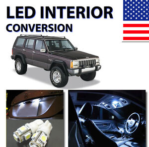 AGT™ Xenon White Interior LED Dome Trunk Package Kit for Cherokee 1997-2001