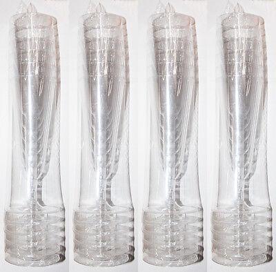 24 x Sektgläser Sektglas klar 0,1l Kunststoff Trinkglas Sekt Glas Geschirr A