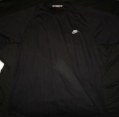 Men's Black Nike Size XL Short Sleeve Crew Neck Shirt