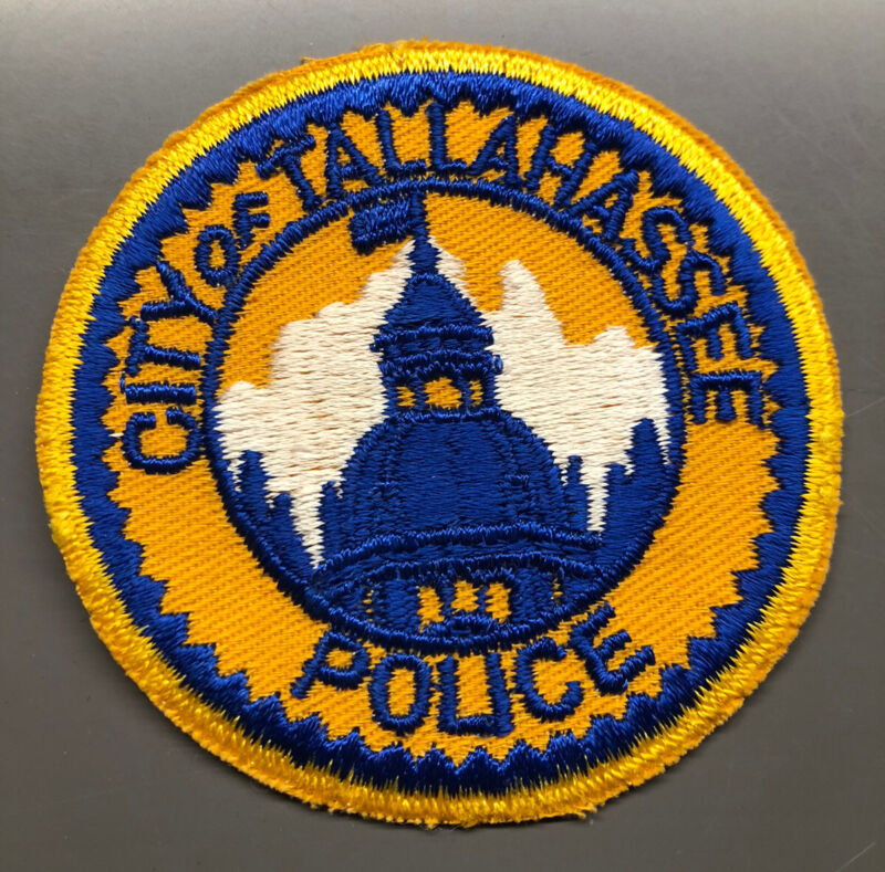 Tallahassee Florida Police Patch ~ New Condition