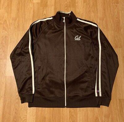 Champion UC Berkley Cal Golden Bears Track Jacket Size Men's 2XL XXL Cal Golden Bears Mens Jacket