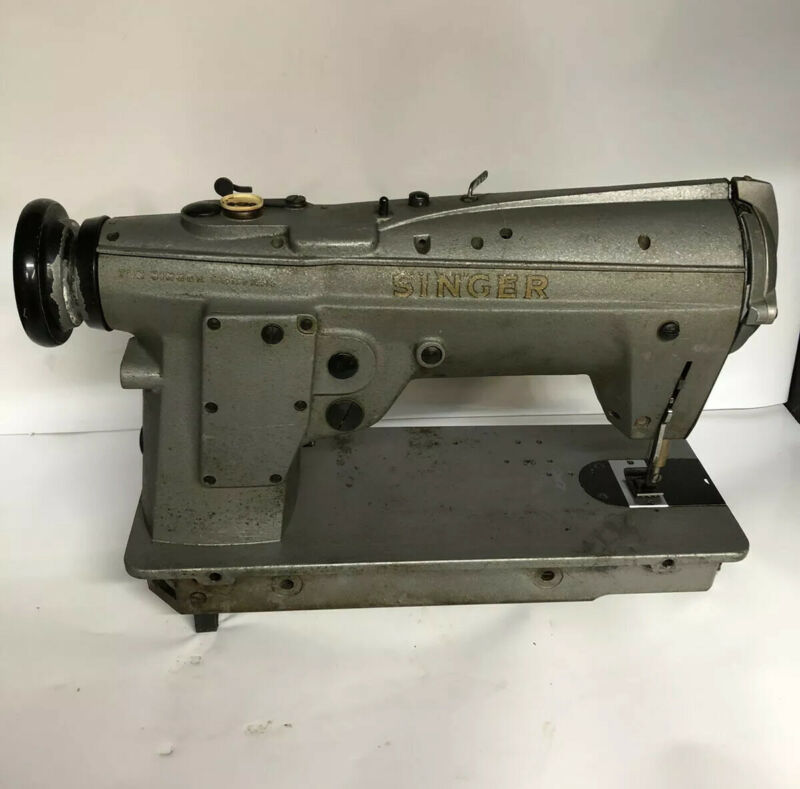 *USED* 457G105-SINGER ZIGZAG STRAIGHT LOCKSTITCH REVERSE SEWING MACHINE
