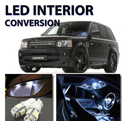 For Land Rover Range Rover Sport 2010-2012 White HID Interior LED Kit (19 (The Best Hid Kit)