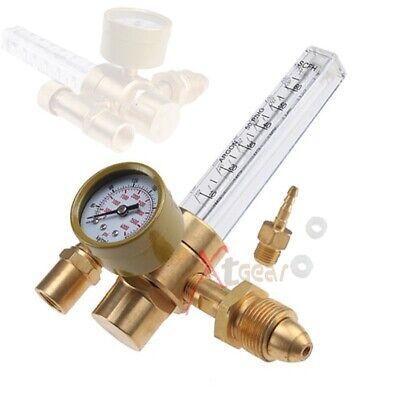 New Argon Co2 Mig Tig Flow Meter Gas Regulator Gauge Welding Weld