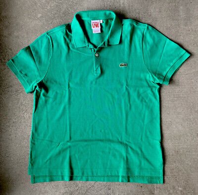 Lacoste LIVE Polo - Size 4 (Green-Color)