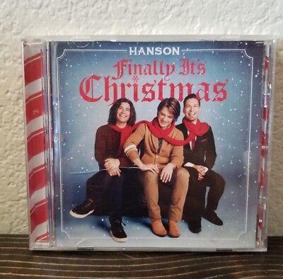 Hanson Finally It's Christmas Music CD BMG 2017 ()