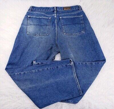 Vintage Quicksilver Mens Jeans 38 Actual Size 35x30.5 Baggy Blue Denim Medium