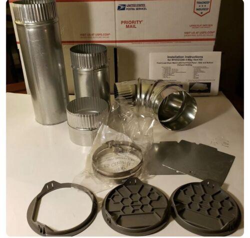 Whirlpool Dryer Vent Kit 4 WAY - Part# W10323246 with instru
