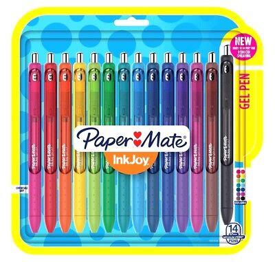 Paper Mate Inkjoy 0.7 Mm Medium Point Assorted Ink Gel Pens 14-pk
