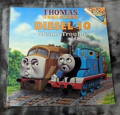 Thomas And The Magic Railroad Diesel 10 Means Trouble Book