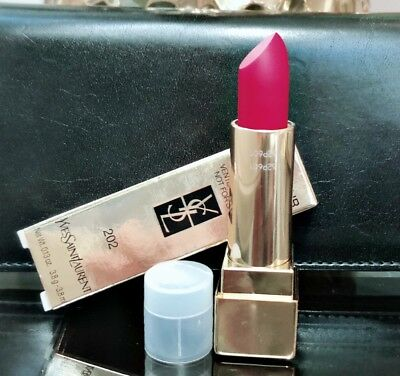 Yves Saint Laurent Rouge Pur Couture The Mats Shade 202 Rose Crazy TsT