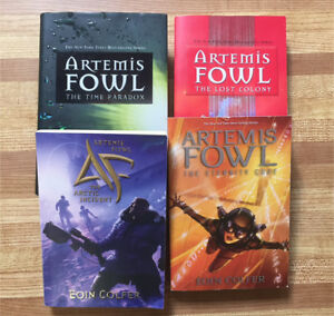 4 Artemis Fowl Books by Eoin Colfer