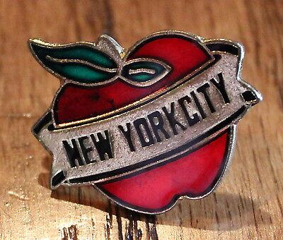 New Big Apple New York City NYC America USA Lapel Hat Pin Tie Tack