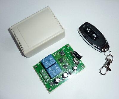 Remote control 12v DC motor reversing Rf relay