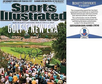 Rory McIlroy Signed 11x14 Photo Sports Illustrated SI Beckett BAS COA 6a27c52a4c18