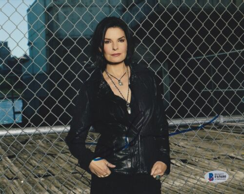 SELA WARD SIGNED 8X10 PHOTO CSI NY FBI BECKETT BAS AUTOGRAPH AUTO COA A