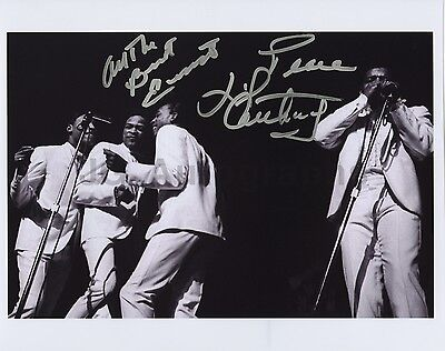 Little Anthony and the Imperials - Authentic Autographed 8x10 Photograph