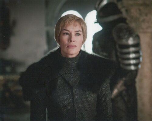Lena Headey Game of Thrones Autographed Signed 8x10 Photo COA EF705