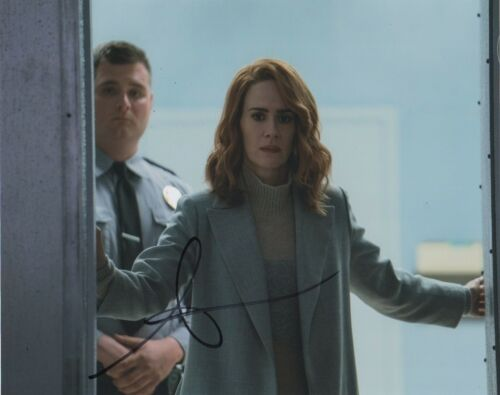 Sarah Paulson Glass Autographed Signed 8x10 Photo COA #EE308
